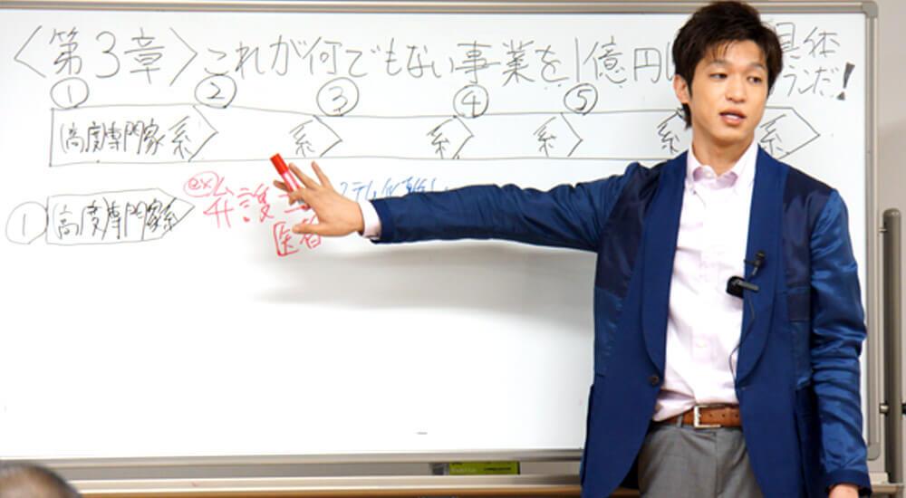 加藤将太次世代起業家セミナー特別編