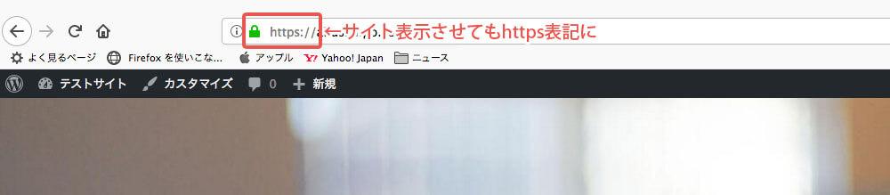 サイト表示