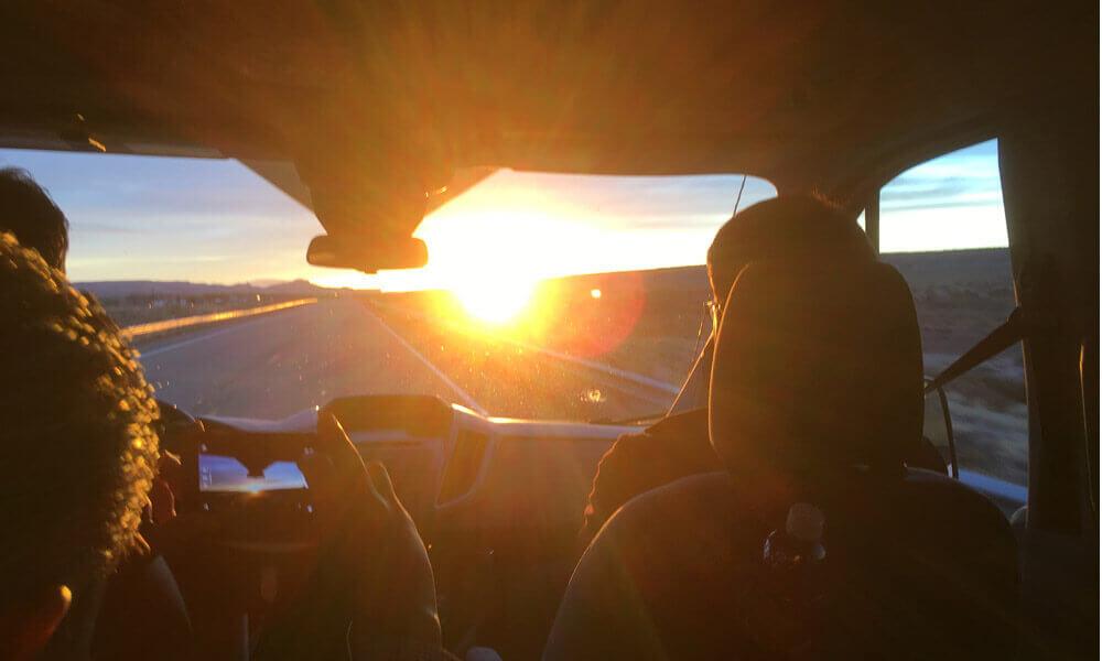 ラスベガスの朝陽
